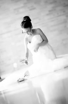 Julia in Wedding Dress